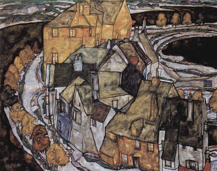 761px-Egon_Schiele_-_Der_Häuserbogen_II_(1915)